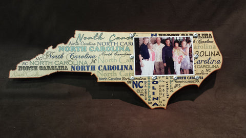 North Carolina State Picture Frame