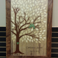Love Doves Tree Guest Book Puzzle