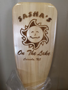 Personalized Boat Paddle