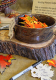 Colorful Fall Leaves Memory Sculpture
