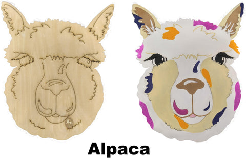 DIY Alpaca Art