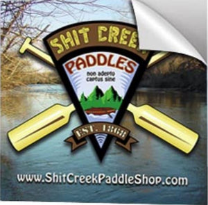 Shit Creek Paddles Logo 3.5″ Sticker