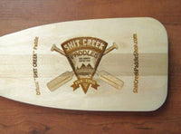 Shit Creek Paddle Coat Rack Blade Right