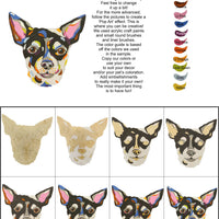 Chihuahua-DIY Pop Art Paint Kit