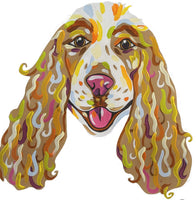 Cocker Spaniel-DIY Pop Art Paint Kit