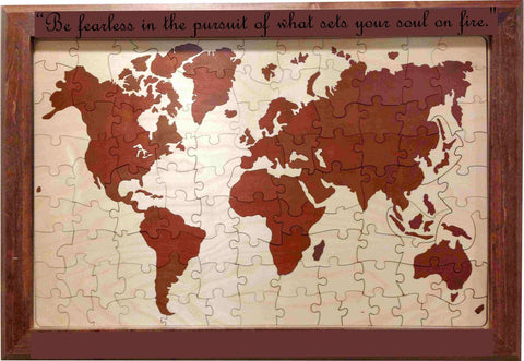 Custom world map wedding guest book alternative puzzle world map wedding guest book gumiabroncs Image collections