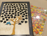 Framed Maple Tree Guest Book