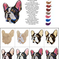 French Bulldog-DIY Pop Art Paint Kit