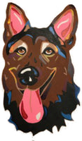 German Shepherd-DIY Pop Art Paint Kit
