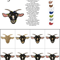 Goat-DIY Pop Art Paint Kit