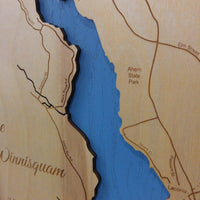 Lake Winnisquam Map