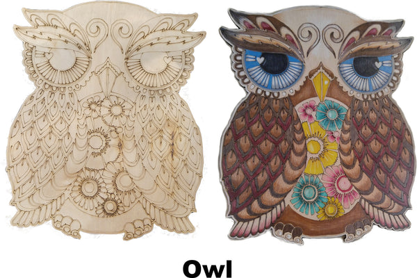Owl Pop Art