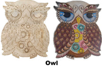 Adult Owl Coloring