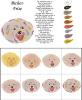 Bichon Frise'-DIY Pop Art Paint Kit