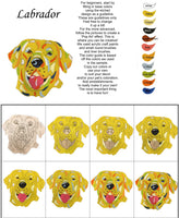 Labrador Retriever-DIY Pop Art Paint Kit