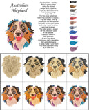 Australian Shepherd-DIY Pop Art Paint Kit