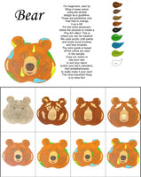Bear-DIY Pop Art Paint Kit