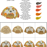 Shih Tzu-DIY Pop Art Paint Kit