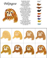 Pekingese-DIY Pop Art Paint Kit