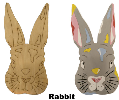 DIY Rabbit Art
