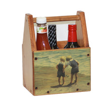 Small Wooden Tote with Image