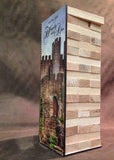 LARGE Building Block Tower Signing Game - Alternative Guest Book