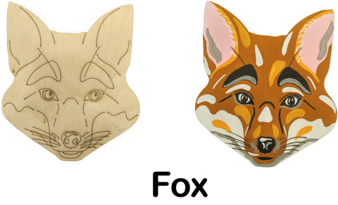 DIY Fox Art