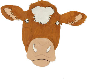DIY Cow Art