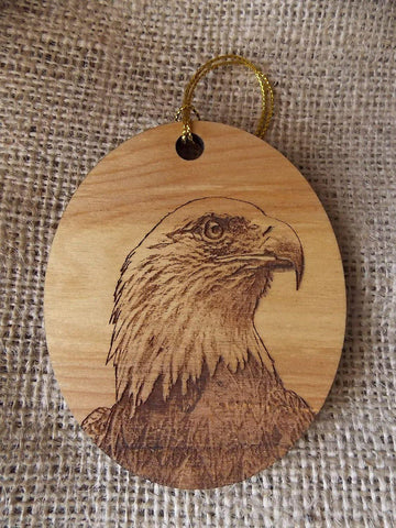 American Bald Eagle Ornament