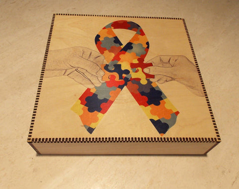 Autism Awareness Memory Box