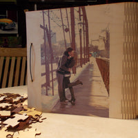 Photo Puzzle Memory Box Guest Book