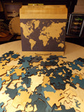 World Map Guest Book w/ Box