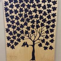Maple Tree Guest Book