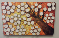 Fall Wood Slice Signing Tree Guest Book