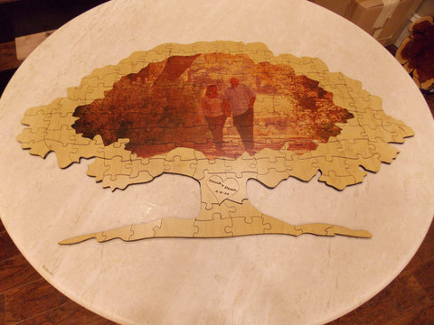 Oak Tree Wood Puzzle
