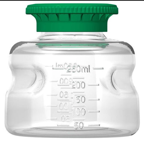 Foxx Life Sciences 250ml PETG Media Bottle with SECUREgrip cap, Sterile