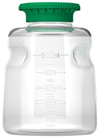 Foxx Life Sciences 500ml PETG Media Bottle with SECUREgrip cap, Sterile