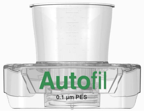 48/case Autofil® 50ml Vacuum Filter .1μm High Flow PES w/ FUNNEL ONLY