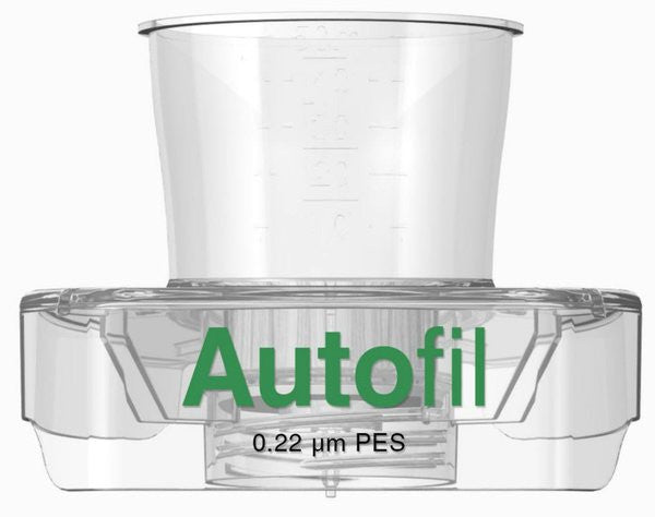 48/case Autofil® 50ml Vacuum Filter .2μm High Flow PES w/ FUNNEL ONLY