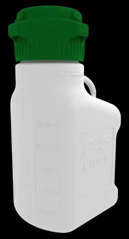 FDA-Grade 2.5L (0.5 Gal) PP Carboy with 83mm Cap