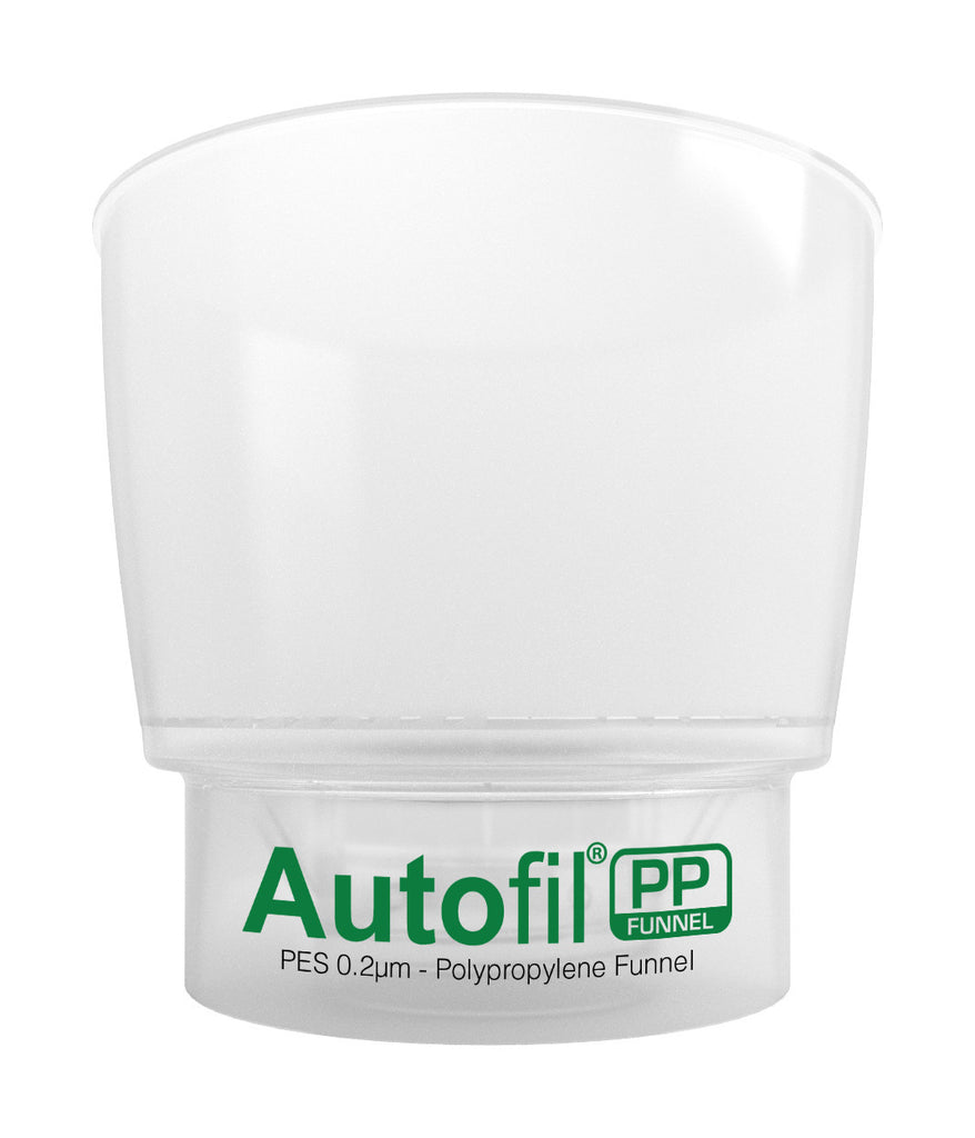 Autofil PP, 500mL Funnel Assembly, 0.2µm Foxx High Flow PES Membrane