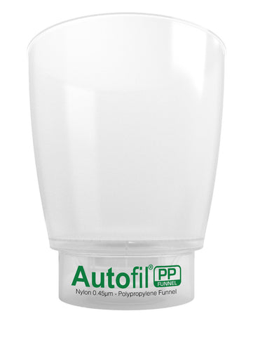 Autofil PP, 1000mL Funnel Assembly, 0.45µm Foxx High Flow Nylon Membrane
