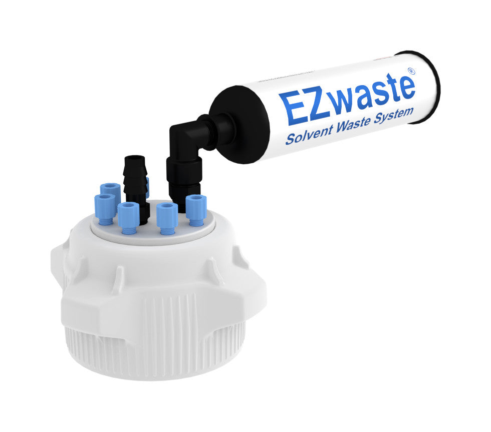 "EZwaste® HD Filter Kit, VersaCap® 83B , 6 ports for 1/8"" OD Tubing, 1 port for 1/4"" HB or 3/8""HB"
