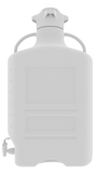 Foxx Life Sciences 40L HDPE Carboy with 120mm Cap and Spigot