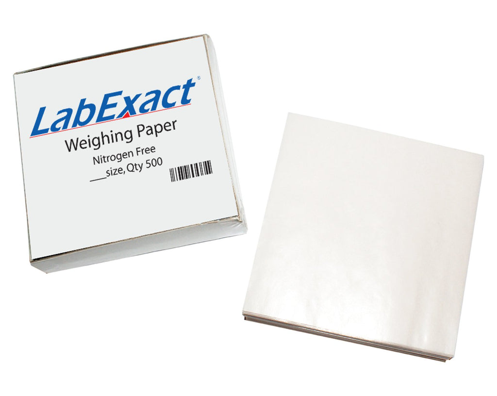 Nitrogen-free Weighing paper -  6 x 6 in. Square - 500/pk