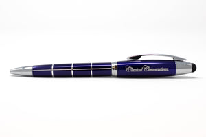Twist Top Stylus Pen - Blue