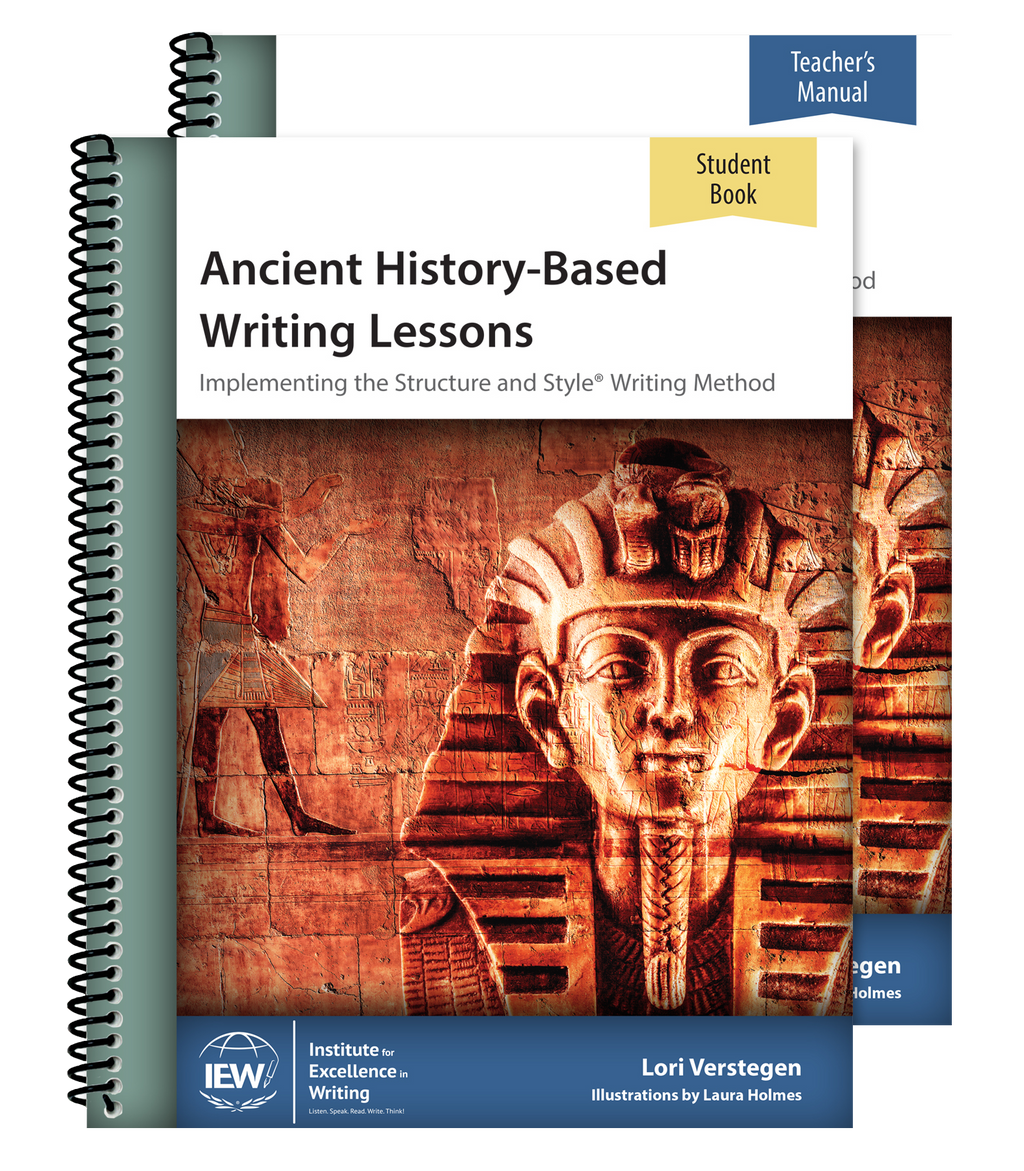 IEW ANCIENT HISTORY-BASED WRITING LESSONS (COMBO)