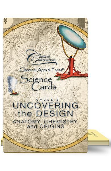 CLASSICAL ACTS & FACTS® SCIENCE CARDS, CYCLE 3