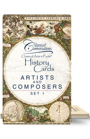 CLASSICAL ACTS & FACTS® ARTISTS AND COMPOSERS, SET 1
