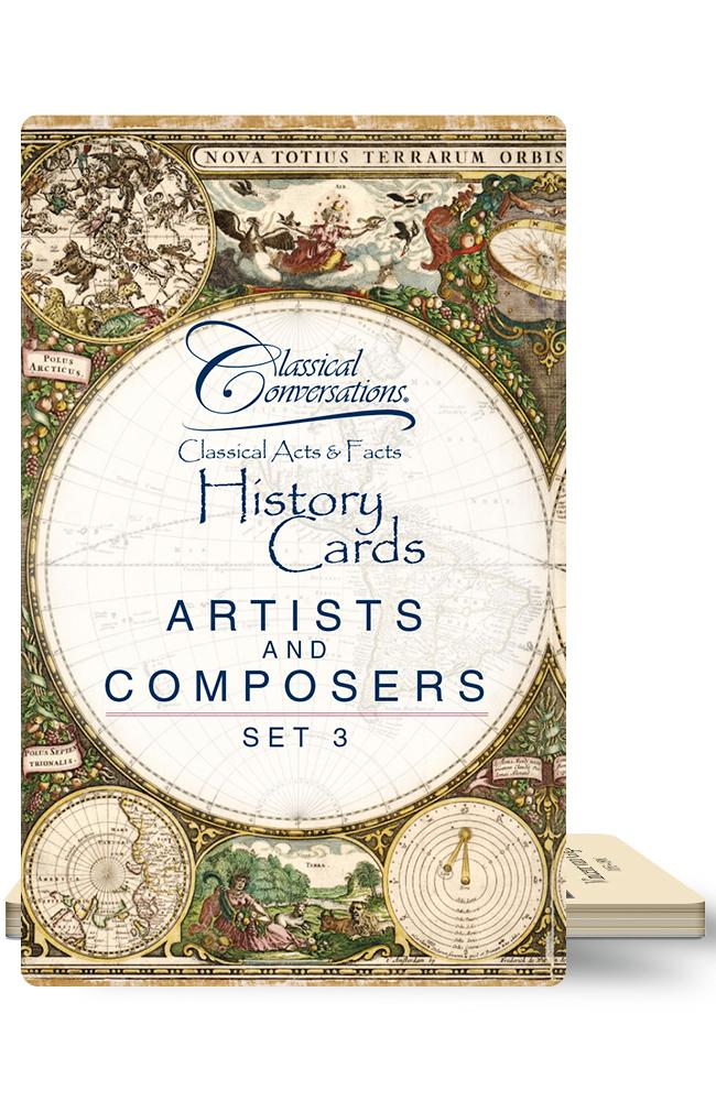 CLASSICAL ACTS & FACTS® ARTISTS AND COMPOSERS, SET 3